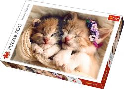 TREFL Puzzle 500 el. z kotkami ŚPIĄCE KOTKI (37271)