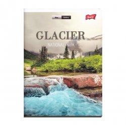 Zeszyt A5 w linię 96 kartek Glacier (07141)