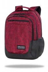 Plecak CoolPack SOUL 27 L czerwony, SNOW RED (C10160)