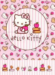 Brulion A6 HELLO KITTY notes 96 kartek (60684)