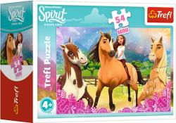 TREFL Puzzle mini 54 el. Spirit Riding Free, Czas na nową przygodę (19629)