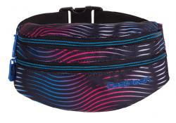 Saszetka na pas torba nerka COOLPACK MADISON w kolorowe paski, FLASHING LAVA 949 (70447)