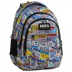 Plecak szkolny młodzieżowy BackUP TABLICE (PLB2H41)