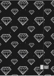 Teczka rysunkowa A4 z gumką St.Right DIAMONDS (05190)