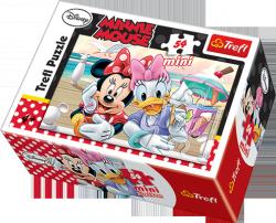 TREFL Puzzle mini 54 el. Myszka Minnie (19472)