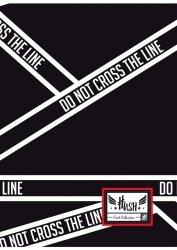 Zeszyt A4 60 kartek w kratkę HASH  DO NOT CROSS THE LINE HS-155 (102019044)