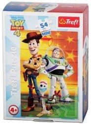 TREFL Puzzle mini 54 el. Wesoły świat Toy Story (19612)