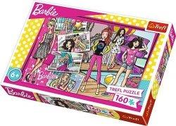 TREFL Puzzle 160 el. Modna Barbie (15362)