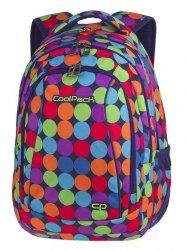 Plecak CoolPack COMBO 2w1 kolorowe kropki, BUBBLE SHOOTER (81563CP)