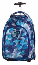 Plecak szkolny młodzieżowy na kółkach COOLPACK TARGET niebieski, FROZEN BLUE 638 (77231)