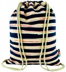 Plecak Worek na sznurkach w paski STRIPES  ST.RIGHT SO10 (13456)