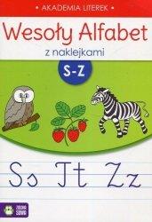 Wesoły alfabet z naklejkami S-Z (35750)