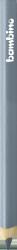 Kredka kredki BAMBINO w oprawie drewnianej SREBRNA (03752)