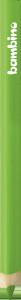 KREDKA TRÓJKĄTNA BAMBINO w oprawie drewnianej JASNOZIELONA (03660)
