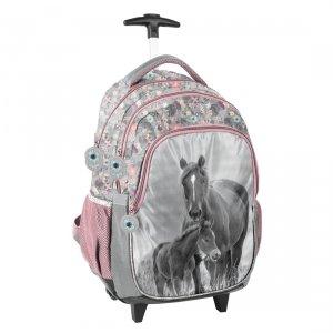 Plecak szkolny na kółkach HORSES Konie Paso (PP20KO-997)