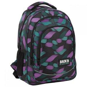 Plecak szkolny młodzieżowy BackUP 26 L przeplatanka, FLOW (PLB3O10)