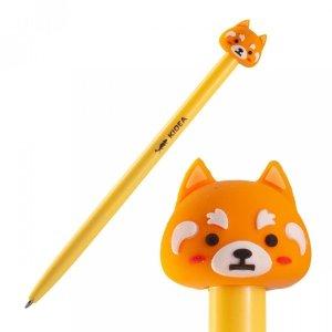 Długopis automatyczny z figurką KIDEA Lis (DAFBKAD)