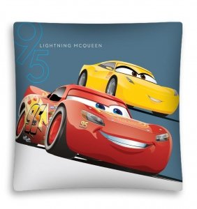 Poszewka na poduszkę 3D CARS 40 x 40 cm (CARS12MF)