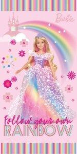 Ręcznik plażowy kąpielowy Barbie 70 x 140 cm (BARB202021)