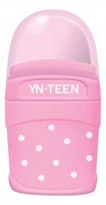 Temperówka z gumką 2w1 YN TEEN różowa (79279)