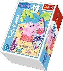 TREFL Puzzle mini 54 el. Świnka Peppa na plaży (19626)