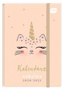 Kalendarz szkolny 2020/2021 B6 CAT Kotek (28390)