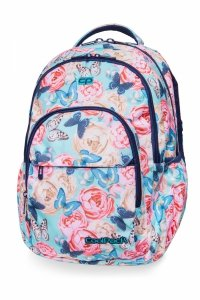 Plecak CoolPack BASIC PLUS kwiaty i motyle, BUTTERFLIES (B03127)