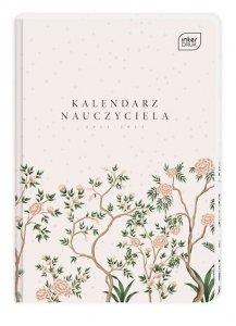 Kalendarz nauczyciela 2021/2022 A5 FLOWER Kwiaty (98447)