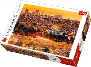 TREFL Puzzle 3000 el. Dachy Jerozolimy (33032)