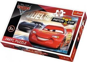 TREFL Puzzle 100 el. Cars 3, Auta (16313)