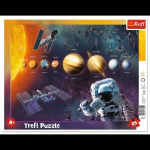 TREFL Puzzle Ramkowe 25 el. Układ Słoneczny (31342)