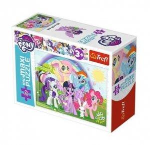 TREFL Puzzle miniMaxi 20 el. My Little Pony, Wesoły dzień kucyków (21078)