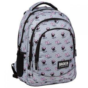 Plecak szkolny młodzieżowy BackUP 26 L Myszka Minnie, MINNIE SZARY (PLB3XMM60)