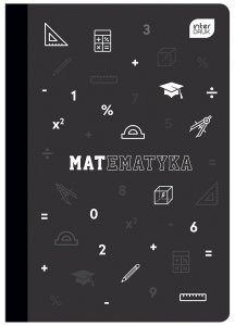 Zeszyt tematyczny przedmiotowy A5 60 kartek w kratkę z polipropylenową okładką MATEMATYKA (93961)