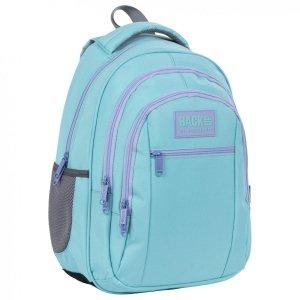 Plecak szkolny młodzieżowy BackUP 26 L PASTELOWY TURKUS (PLB4O38)