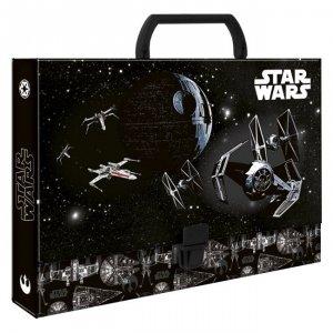Teczka twarda z rączką STAR WARS Gwiezdne Wojny (TTRSW)
