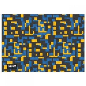 Podkład oklejany na biurko BackUP klocki, BRICKS (POB3A52)