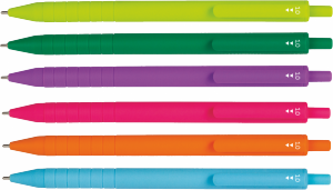Długopis SWIFT COLOR wkład różowy PATIO (66303PTR)