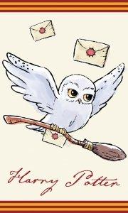 Ręcznik dziecięcy HARRY POTTER Hedwiga 30 x 50 cm (HP213003)