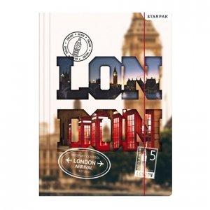 Teczka rysunkowa A4 z gumką LONDYN (397701)