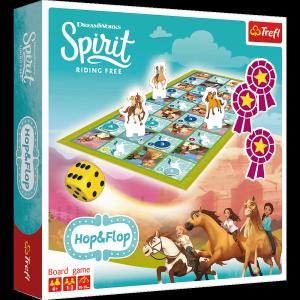 TREFL Gra planszowa Hop & Flop, Spirit Riding Free (01746)