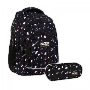 ZESTAW 2 el. Plecak szkolny młodzieżowy BackUP 26 L TALK (PLB4A16SET2CZ)