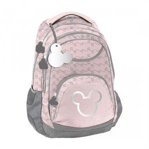 Plecak szkolny młodzieżowy Myszka Minnie, MINNIE SILVER Paso (DISK-2708/16)