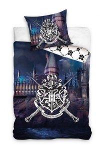 Pościel bawełniana Harry Potter 160 x 200 cm komplet pościeli (HP188010)