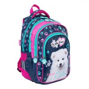 Plecak szkolny St. Majewski My Little Friend CUTE DOG Piesek BP58 (34550)