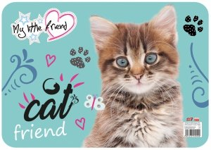 Podkładka laminowana podkład My Little Friend CAT Kotek (28191)