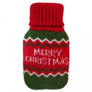 Ogrzewacz do rąk w pokrowcu sweterkowym MERRY CHRISTMAS INCOOD. ( 0059-0087)
