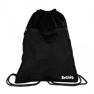 Worek na obuwie czarny, BLACK Paso (PPBK20-713)