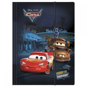 Teczka z gumką A4 Cars Auta, licencja Disney (TGA4CA)