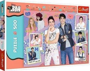 TREFL Puzzle 500 el. BIA I PRZYJACIELE (37374)
